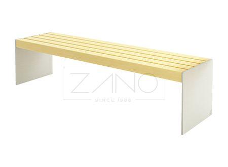 Скамейка Simple 02.424 - простая конструкция | ZANO Уличная мебель