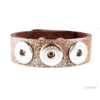 Noosa Armband Brown Shimmer - Medium