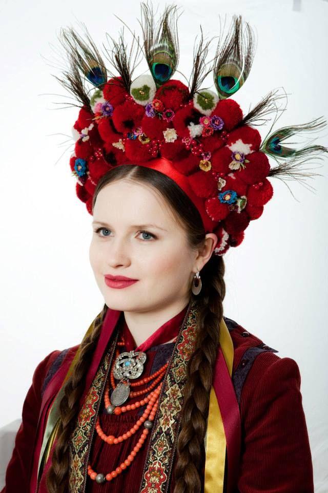 .Traditional headdress Ukraine #Slavonik#Dekor#EFolk   ornament, decor, garniture, tracery, pattern, design, tracery, weave,