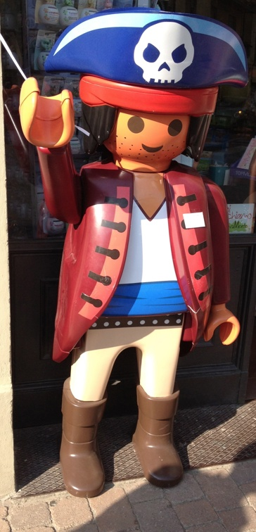A playmobil pirate