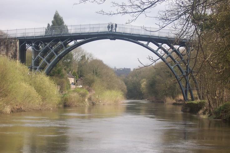Iron Bridge, Shropshire, UK