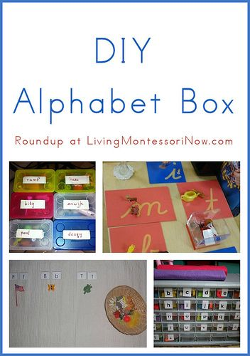 Blog post at LivingMontessoriNow.com : Last week in my post about inexpensive and DIY sandpaper letters, I said that my son absolutely loved Montessori sandpaper letters (Learning[..]