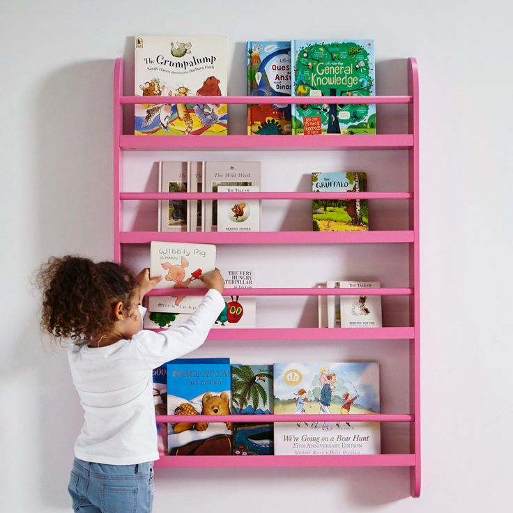 Greenaway Kids Bookcase Pink All Toy Storage Ideas