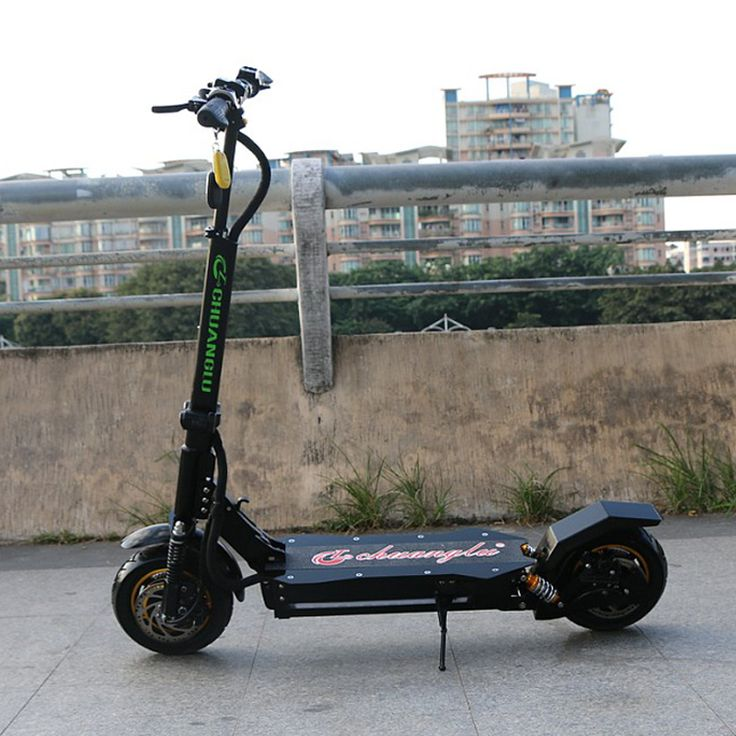 Kwheel Double Drive Chuanglu Electric Scooter Frame without battery double motors powerful and oil brake