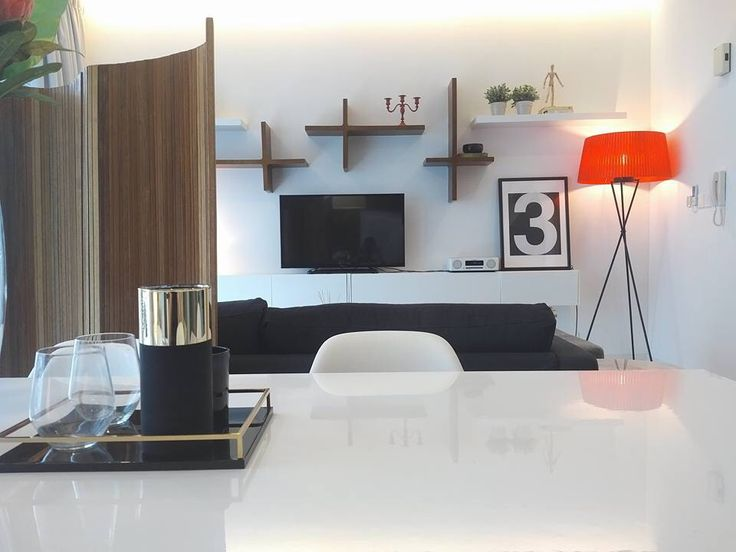 Living Room Styling And Interior Design For 2 Bedroom Apartment At Setia Sky Residences KL