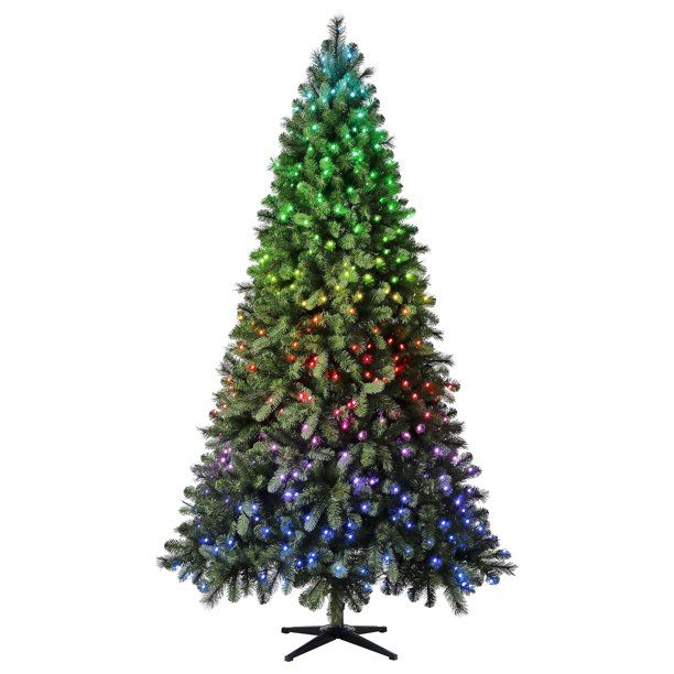 Evergreen Classics Twinkly Carolina Spruce Quick Set Artificial Christmas Tree 7 5 App Controlled Rgb Lights Walmart Com Artificial Christmas Tree Christmas Tree Pine Christmas Tree