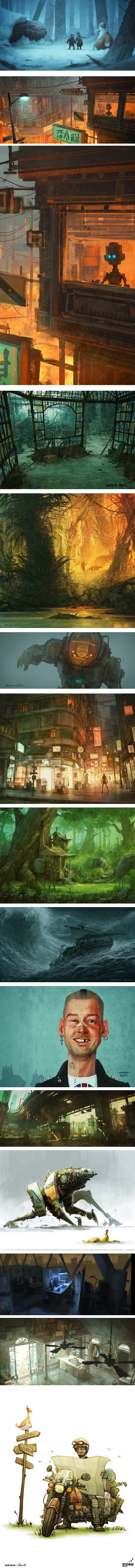 Nikolai Lockertsen, Nikko, art director an visual development artist, Norway                                                                                                                                                                                 More