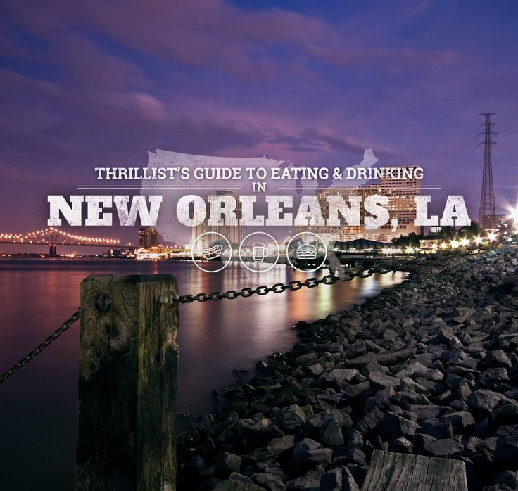 Where the locals eat and drink in New Orleans.Make it your goal to eat as many po'boys as possible.