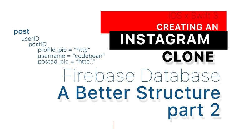 Instagram Clone part 26: A Better Firebase Database Structure part 2