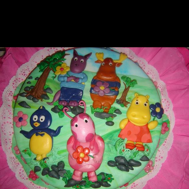 #Backyardigans #cake #torta por @acuariana7