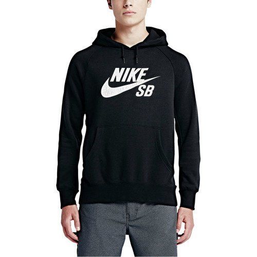Made from a soft cotton, polyester blend, the Nike SB Men's Icon Crackle Pullover Hoodie is perfect for those chilly October sessions at the skatepark. The raglan sleeves and underarm insets offer enhanced range of motion, on and off your deck, while the brushed interior creates a soft feel and increased warmth. The thick crackle graphic creates a distressed look that gives off the vibe that you've owned it for years.