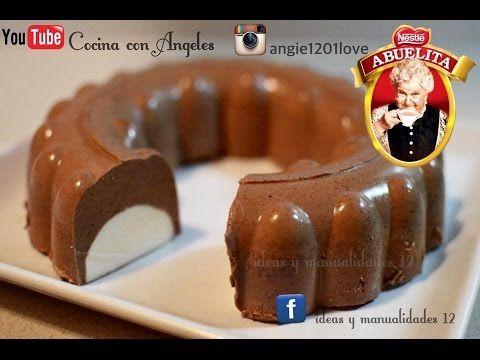 GELATINA CHOCOCREMA / CON QUESOCREMA - YouTube