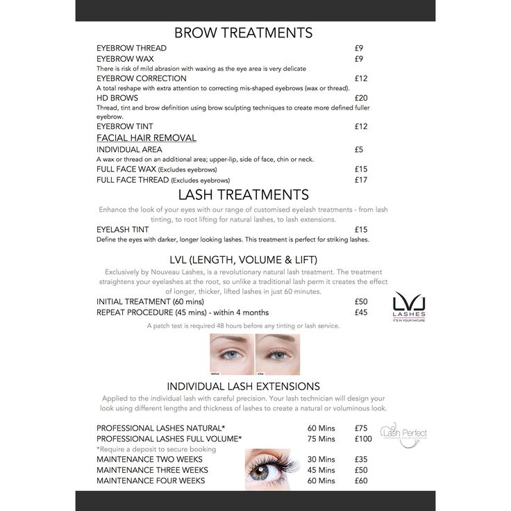 The Salon Beauty Price List For Some Of Our Most Popular Beauty Treatments Beauty Pricelist Bestsellers Beautymarketing Kosmetik