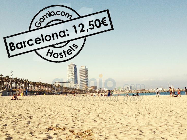 #Barcelona, #Spain 12,50€    #Beaches, #sun, stunning #architecture and a #unique #atmosphere! Barcelona has everything and is a #perfect #European #Summer #destination. You can find all hostels in Barcelona here. http://www.gomio.com/en/hostels/europe/spain/barcelona/search.htm  #Backpacking #backpacker #travel #summer #sun #beach #traveling #ideas #inspiration