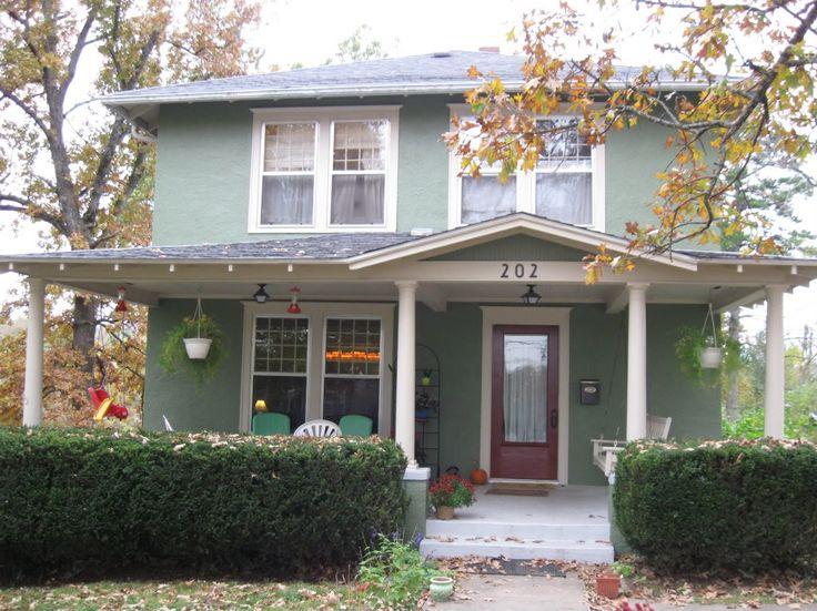 1000 ideas about green exterior paints on pinterest exterior paint exterior paint colors and for Green exterior house paint ideas