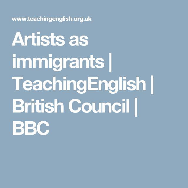 Artists as immigrants | TeachingEnglish | British Council | BBC