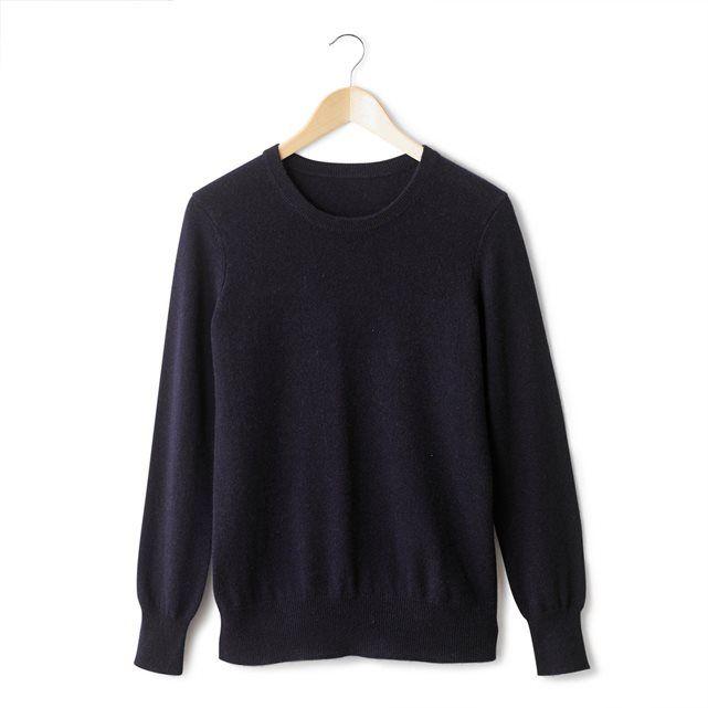 Image Sweter z okrągłym dekoltem, wełna kaszmirowa 100%. R essentiel 420 zł