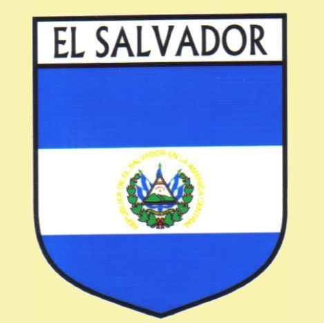 For Everything Genealogy - El Salvador Flag Country Flag El Salvador Decals Stickers Set of 3, $15.00 (http://www.foreverythinggenealogy.com.au/el-salvador-flag-country-flag-el-salvador-decals-stickers-set-of-3/)