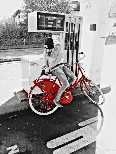 Bicycle # citybike # red # energy