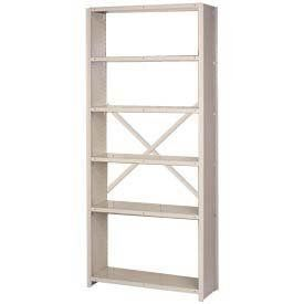 "Closed Shelving Starter Open Back 6 Extra Hd Shelves, 36""Wx24""Dx84""H Putty by LYON WORKSPACE PRODUCTS. $296.95. Lyon Closed Shelving Starter Open Back 6 Extra HD Shelves, 36""Wx24""Dx84""H Putty 18-Gauge Extra Heavy Duty Box W shelves deliver 1300 lb. capacity for storing motors, pumps, and other heavy equipment. Back open with lateral cross brace."