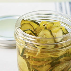 Easy Refrigerator Pickles, perfect for on the go cooking this summer!!!! | MyRecipes.com