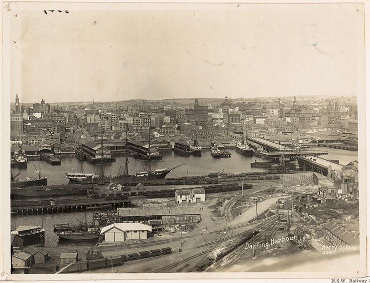 Through the lens: Darling Harbour - State Records NSW