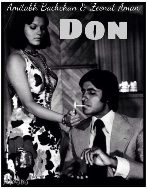 Zeenat aman and amitabh in don