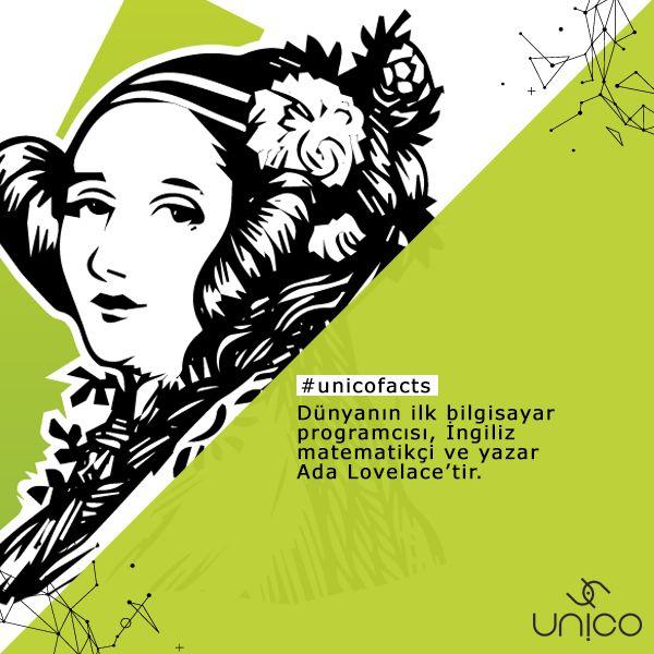 #Unicofacts Dünyanın ilk bilgisayar programcısı bir kadındır.  İngiliz matematikçi ve yazar olan Ada Lovelace, esas olarak Charles Babbage'in erken dönem mekanik genel amaçlı bilgisayarı Analitik Makine üzerindeki çalışmaları ile bilinir. Makine hakkındaki notları, bir bilgisayar tarafından işlenmek üzere yazılan ilk algoritmayı içerir.  🚀 www.unicodigital.com #unicodigital