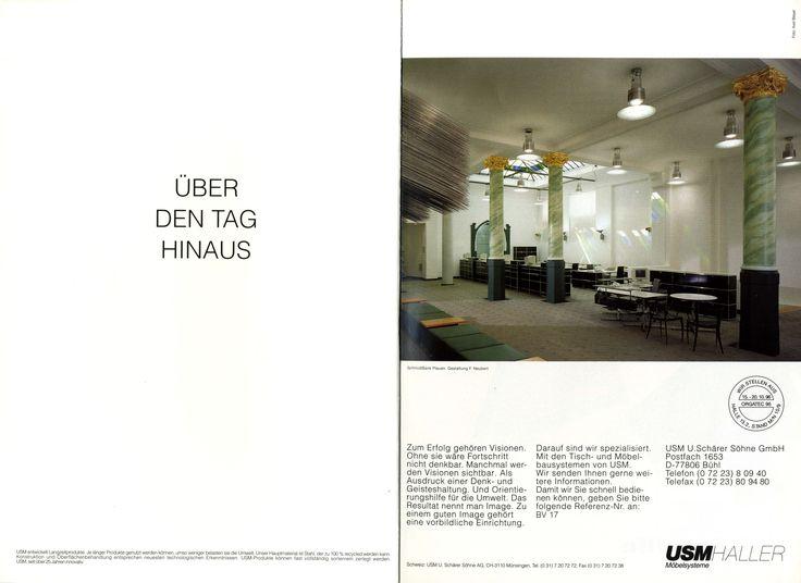 Advertisement in Banken und Versicherungen 1996