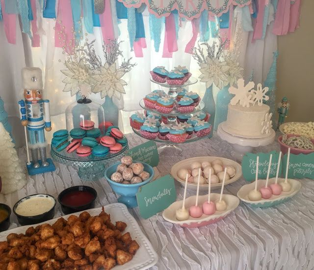 Audrey S Winter Onederland 1st Birthday Party With Images Hot