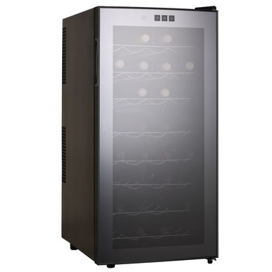 Kingsbottle 32 Bottle Thermoelectric Wine Cooler (Black)  http://qualitywinecoolers.com/products/kingsbottle-32-bottle-thermoelectric-wine-cooler