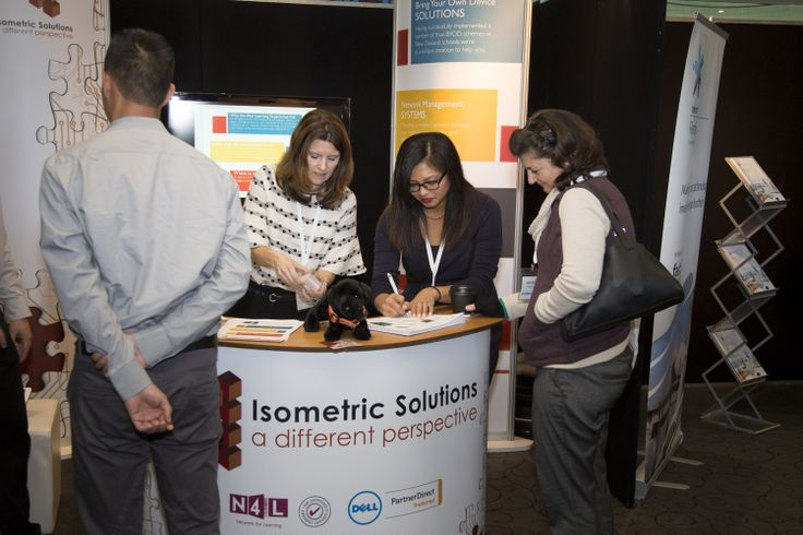 Isometric Solutions stand