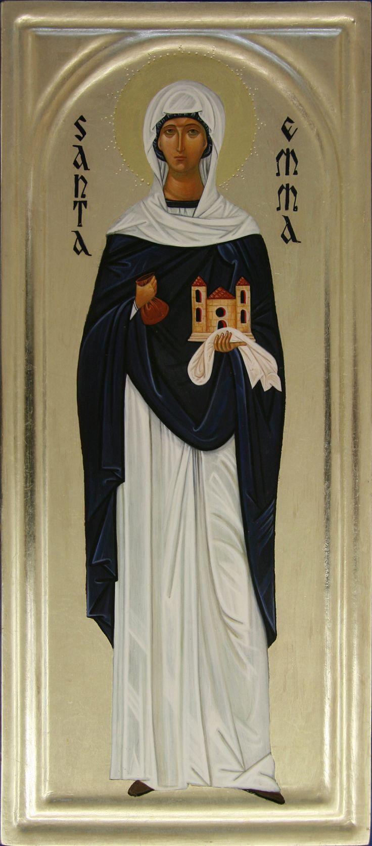 Santa Emma per mano di Maria Marciandi (Italy)