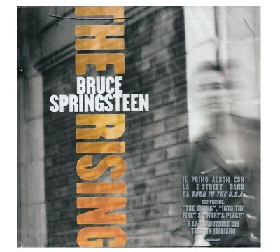 CD BRUCE SPRINGSTEEN THE RISING NUOVO ORIGINALE SIGILLATO NEW ORIGINAL SEALED