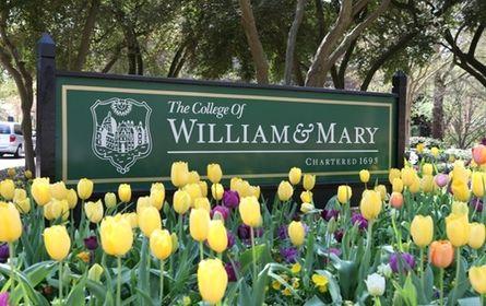 College of William and Mary   Williamsburg, VA