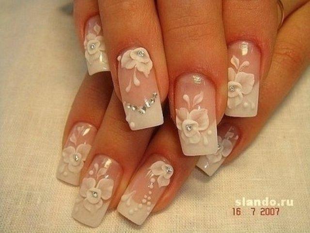 свадебный дизайн ногтей: 25 тыс изображений найдено в Яндекс.Картинках