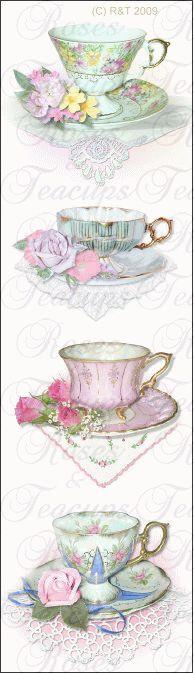 Tea Bookmark
