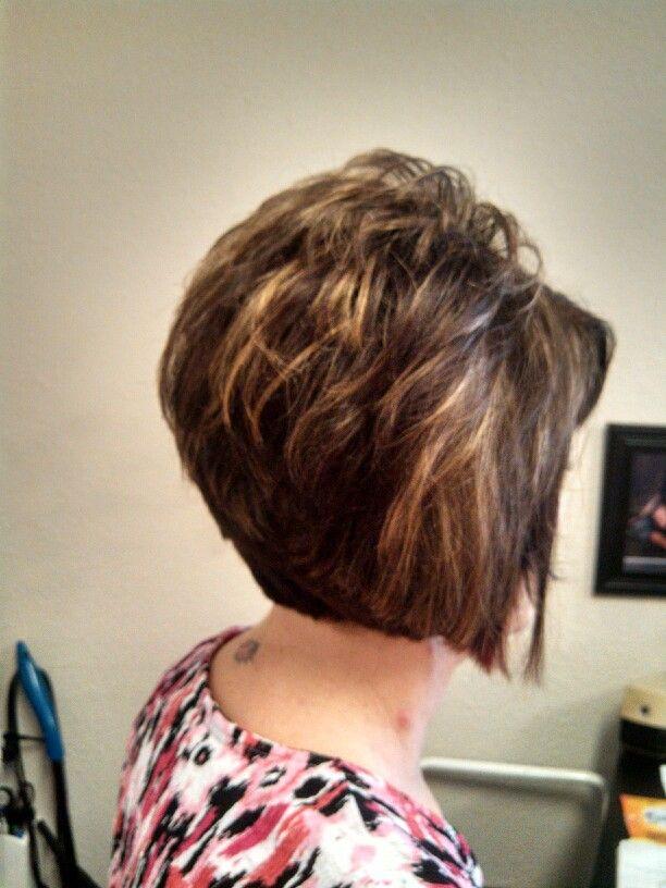 Stacked A line bob | HAIR & MAKEUP | Pinterest