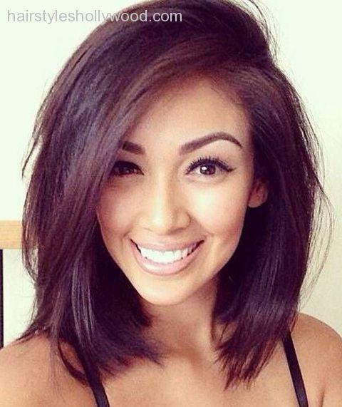 Pleasant 1000 Ideas About Round Face Hairstyles On Pinterest Korean Short Hairstyles For Black Women Fulllsitofus