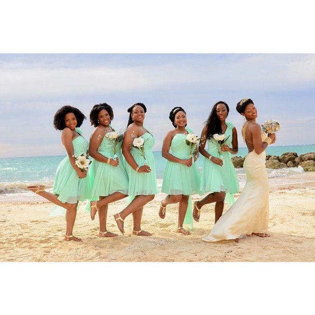 "Carmen of ""My Natural Sistas"" gets married! Beautiful"