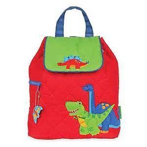 Stephen Joseph quilted backpack- Boys Dinosaur