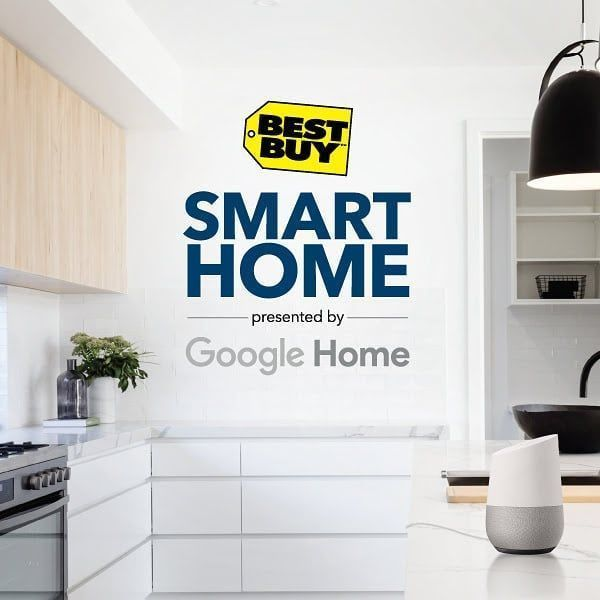 Visit the #NationalHomeShow March 9 - 18 to see the Best Buy Smart Home presented by Google Home! Check out smart lighting thermostats appliances cameras and more while learning how to seamlessly connect and control everything with your voice via Google Home. . . . #everythingconnected #events #Toronto #tech #smarthome #smarthomecamera
