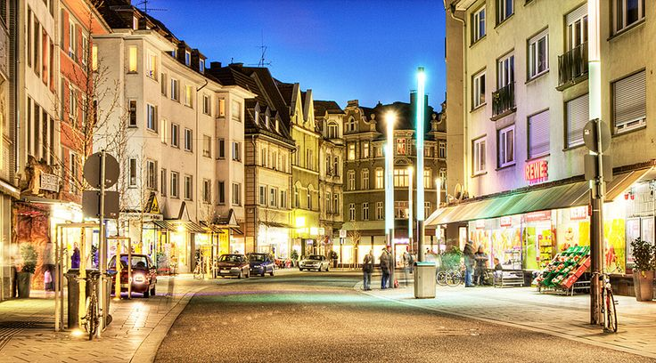 The walkplatz in Giessen, Germany