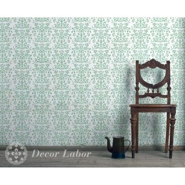 our stencils, vintage paint roller pattern - Charlotte