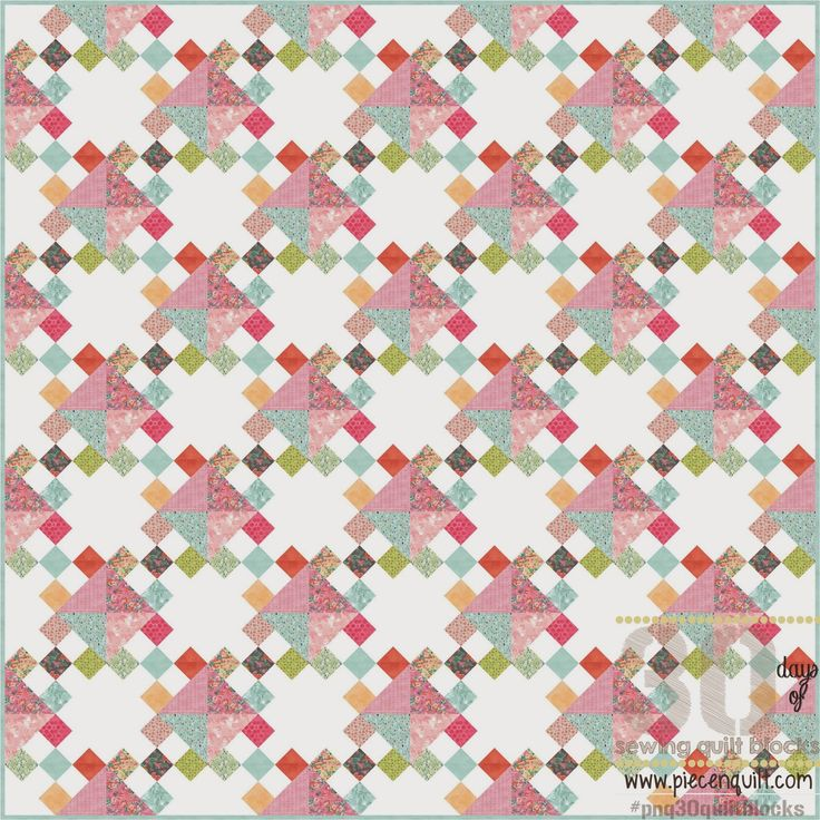 Piece N Quilt: How to: Crossroads to Jericho Quilt Block - 30 Days of Sewing Quilt Blocks