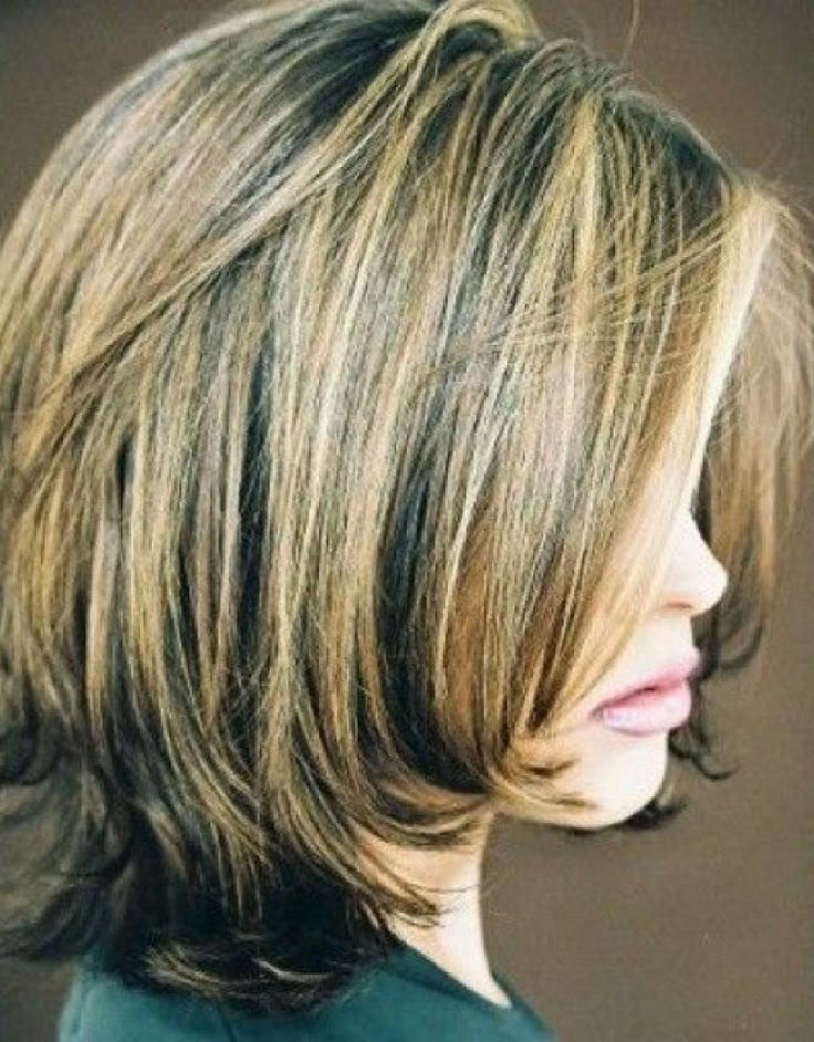 short layered bob hairstyle photos