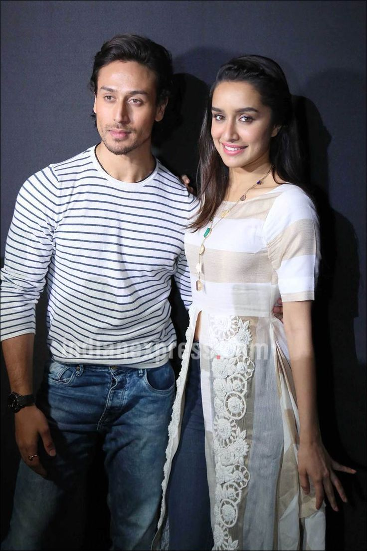Shraddha Kapoor and Tiger Shroff promote #Baaghi in Jaipur. #Bollywood #Fashion #Style #Beauty #Hot