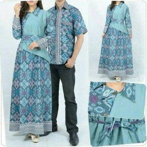 gamis couple batik sasmita MTFA01