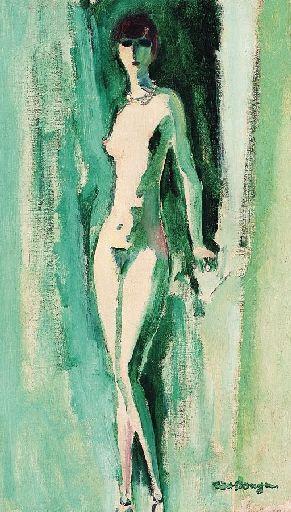 Kees van Dongen (1877-1968) -Even later sloten Emil Nolde, Max Pechstein, Otto Mueller en Cuno Amiet zich bij dit viertal aan. De Nederlandse schilder Kees van Dongen was ook enige tijd betrokken bij Die Brücke.