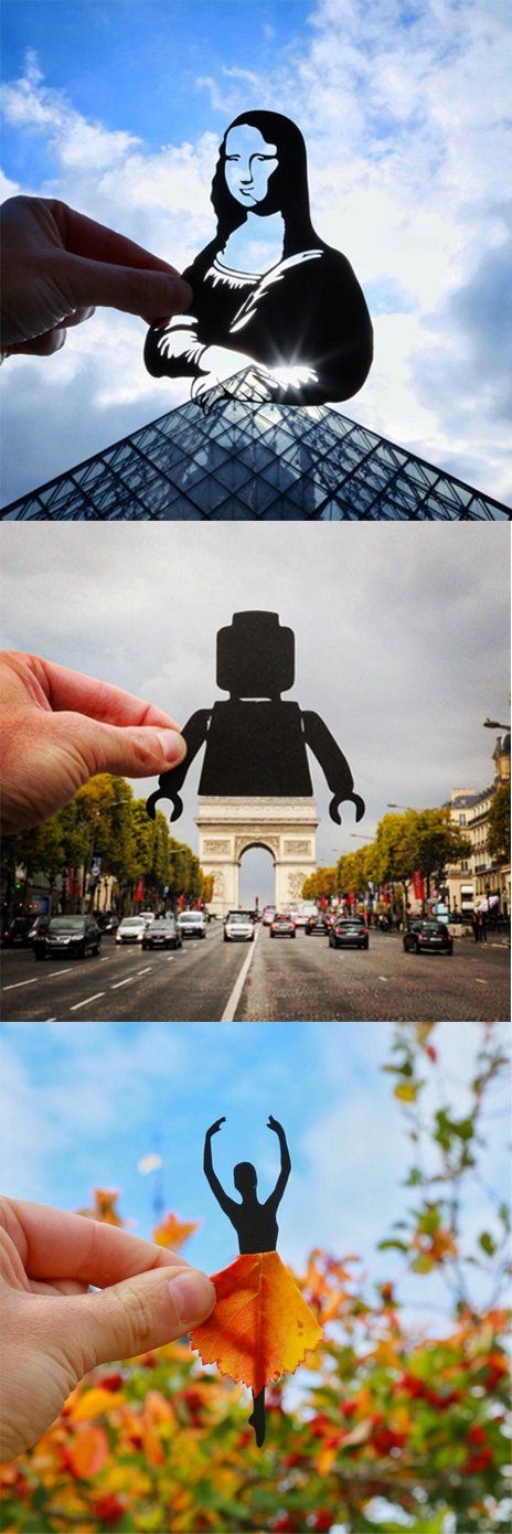 Using Just Paper, This Instagram Account Will Show You a Whole New World